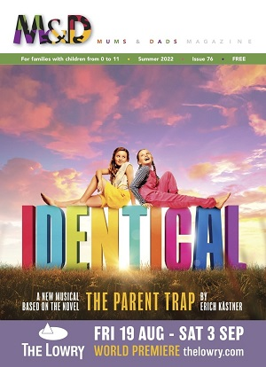 Cover of the winter 12-13 issue of M&D paranting magazine
