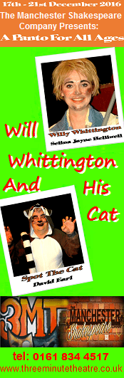 Will Whittington and his Cat | Family Pantomime at Three Minute Theatre