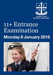 11+ entrance exam at Alderley Edge School for Girls