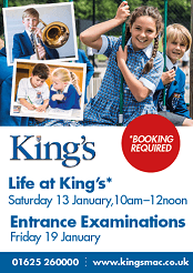 Entrance exam and Life at The Kings School in Macclesfield