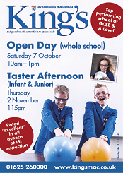The Kings School in Macclesfield Open Day and Taster Session