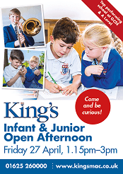 Infant and Junior Open Afternoon at The Kings School in Macclesfield