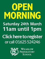 Wilmslow Preparatory School Open Morning