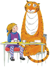 The Tiger Who Came to Tea - Character from Lowry Show