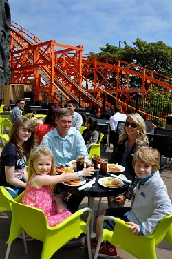 Fathers Go Free at Blackpool Pleasure Beach resort