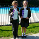 Huw and Charlotte Williams IAPS Swimming