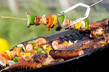 Barbecue - Making Kebab