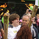 Richard Howarth With Olympic Torch