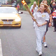 Sasha Carries Torch