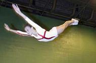 Sasha Carter At Bury Trampoline Club ; photo burytimes.co.uk