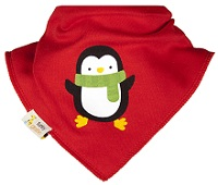 Bib by Funky Giraffe gives smart and Christmasy look