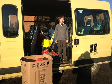 Toys Donated to The Wood Street Mission Charity by Ryleys Families Fill School Minibus