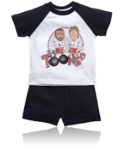 Pyjamas with TOONED Characters from McLaren Store