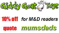Giddy Goats Toys Promotional Code