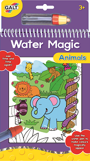 Water Magic Colouring Book, Aquadraw - make coloring with water filled pen