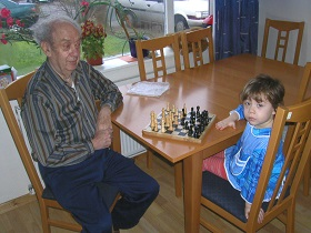 Playing Chess with Grandpa