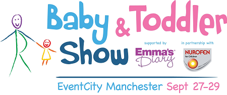 The Baby & Toddler Show | Logo | The Baby & Toddler Show at EventCity, Manchester 27-29 Sept