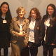 Dr Francisca Wheeler with girls from WGS, Winners at British Physics Olympiad 2013