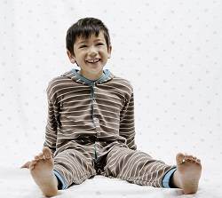 Boy in Onesie (Jumpsuit) from Silver Sense