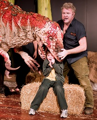Dinosaur Zoo Live, UK Tour 2013   Boywith Australovenator