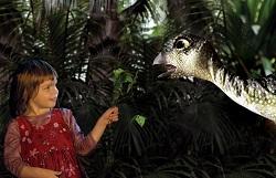 Dinosaur Zoo Live, UK Tour 2013   Girl with Leaellynasaura