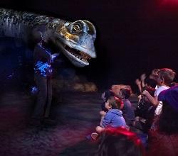 ERTH Dinosaur Live Petting Zoo, UK Tour 2013 | Titanosaur
