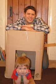 Father Figure | Cardboard Box Play 1