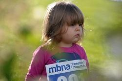 Mini marathon runner | 2013 MBNA Chester Marathon