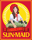 Sun-Maid Logo | California based company that produce aisins and dried fruits