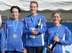 Top three female finishers | 2013 MBNA Chester Marathon