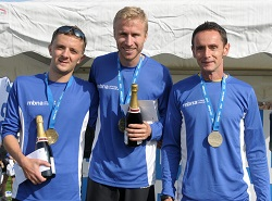Top three male finishers | 2013 MBNA Chester Marathon