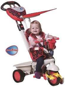 4-in-1 Dream, tricycle ride-on toy and stroller for babies and children from Smart-Trike