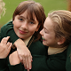 Pupils from All Girls Wilmslow Preparatory School