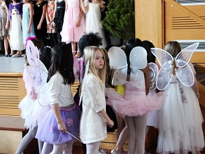Princess and Fairy show | Girls are working hard hoping that it is enough to get recognition.
