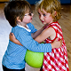 Enjoy-a-Ball   Boy and Girl with a ball