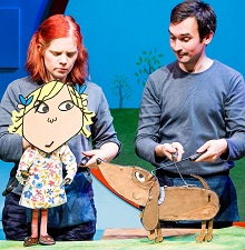 Lola and Sizzles | Charlie and Lola's Extremely New Play