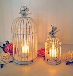 Original birdcage tea light holders
