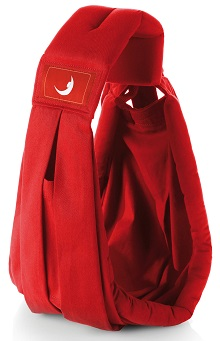 theBabaSling Classic Scarlet Red - Over the Shoulder Baby Sling