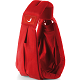 theBabaSling Classic Scarlet Red - Over the Shoulder Baby Sling