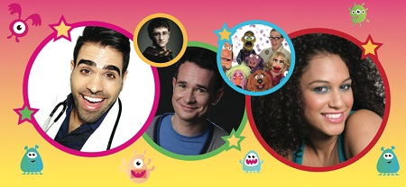 CBeebies Presenters at the Little Fun Fest