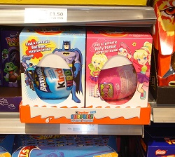 Tes of major retailers specifically targeted for boys or girls oys that encourage gender stereotyping on the shelv