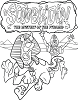 Scooby-Doo & The Mystery of the Pyramid | Official Colouring in book
