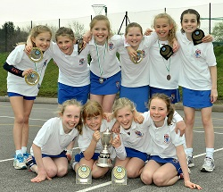 U11 Netball Champions, March 2014 | The King's School in Macclesfield