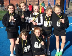 U11 netballers | Stockport Grammar's Junior School