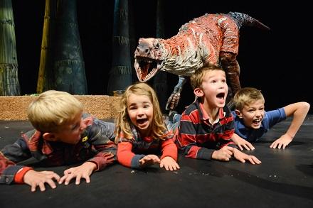 Dinosaur Zoo Live Show 2014, UK Tour