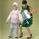 Overprotective Parent Wrapping a Child in Bubble Wrap