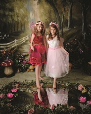 Two Fairies   Fairy and Elf Experience at Dawber Photography