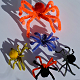 Halloween Craft | Creepy Pipe Cleaner Spiders