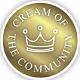 Cream of the Community Award Logo