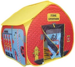 Fire Station Pop Up Play Tent